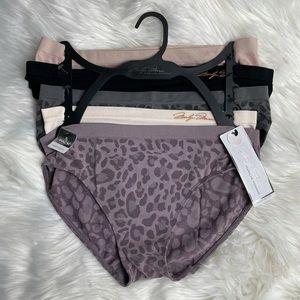New! Marilyn Monroe Seamless Panties 5 pack Size L